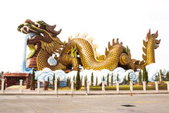 Большой дракон Стоковое Изображение