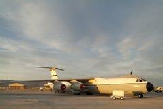 Большой реактивный грузовой самолет Стоковая Фотография