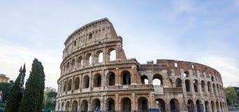 Большой римский Колизей Colosseum, Colosseo в Риме Стоковое Изображение RF