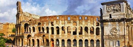 Большой Рим, Colosseo Стоковые Изображения RF