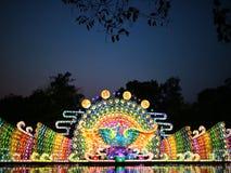 Большой свет фестиваля Стоковое Изображение
