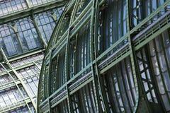 Большой старый парник (Palmenhaus) в вене, Австрии Стоковые Фотографии RF