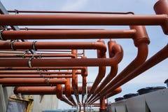 Большой стояк водяного охлаждения кондиционирования воздуха, охладитель Стоковая Фотография RF