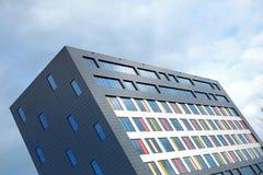 Большой строительный блок в голландском городе Альмело Стоковое Изображение