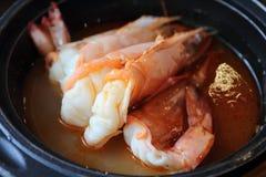 Большой суп креветки Стоковое Изображение RF