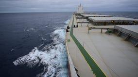 Большой судно-сухогруз сток-видео