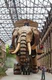 Большой слон Нанта Стоковые Фото