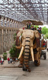 Большой слон Нанта Стоковая Фотография RF