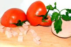 Большой томат Стоковая Фотография