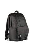 Большой черный рюкзак с сильным креплением Стоковое Изображение