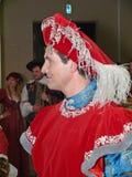 Большой шарик вычур-платья Стоковые Фото