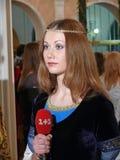 Большой шарик вычур-платья Стоковые Фотографии RF