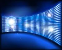 большой экран также вектор иллюстрации притяжки corel Стоковая Фотография RF