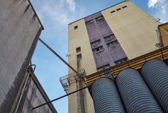 Большой экстерьер фабрики Стоковая Фотография RF