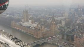 Большой ben Лондон Вестминстер vue de haut стоковое фото