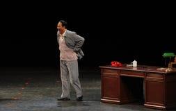Большой Zedong-эскиз Mao человека анти--коррупция-людей в большом этапе Стоковые Изображения RF
