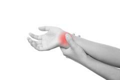 Боль в соединениях рук Стоковая Фотография RF