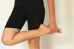 Боль и ноги ноги стоковые фото