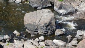 Больдэр в середине The Creek Стоковое Фото