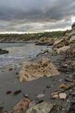 Больдэр на пляже Стоковая Фотография