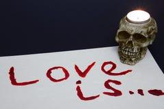 Боль is… влюбленности Стоковая Фотография