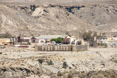 Браво форта - Испания стоковое изображение rf