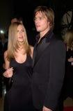 Брад Питт, Дженнифер Aniston стоковое изображение rf