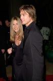 Брад Питт, Дженнифер Aniston стоковые фотографии rf