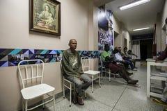 Бразилия - San Paolo - ONG Sermig - свободная зубоврачебная деятельность для бездомные как Стоковые Фото
