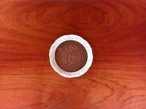 """Бразильская конфета Brigadeiro известное как """"brigadeiro de colher """" стоковые фото"""