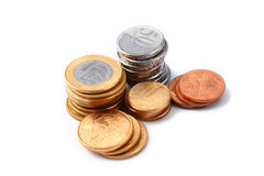 бразильские деньги стоковые фотографии rf