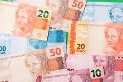 Бразильские деньги Стоковые Изображения RF