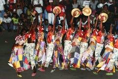бразильские люди танцульки Стоковые Фотографии RF