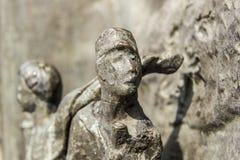 Бразильские солитарные статуи стоковое изображение