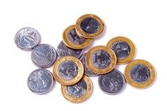 бразильские деньги Стоковое Изображение
