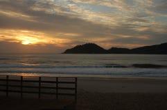 бразильский восход солнца Стоковая Фотография