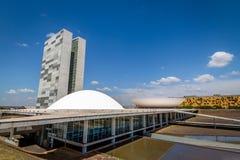 Бразильский национальный конгресс - Brasilia, Distrito федеральное, Бразилия стоковые фото