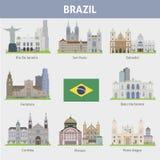Бразилии Символы городов бесплатная иллюстрация
