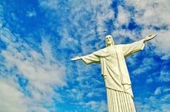 Бразилии статуя redeemer christ стоковое фото