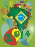 Бразилия 2014 Стоковые Фото