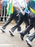 Бразильская армия Стоковое Фото