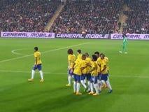 Бразильская команда Стоковые Фото