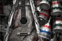 Бразильская музыка Стоковая Фотография