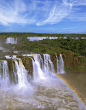 Бразильская сторона падений Стоковая Фотография