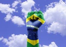 бразильские вентиляторы Стоковые Фото