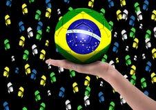 бразильские вентиляторы Стоковые Изображения RF