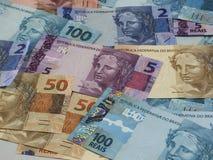 Бразильские деньги 010 Стоковое Изображение RF