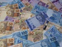 Бразильские деньги 017 Стоковая Фотография
