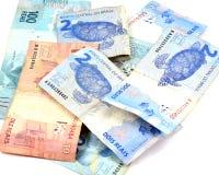 бразильские деньги Стоковая Фотография