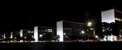Бразильские министерские офисы Стоковые Фотографии RF